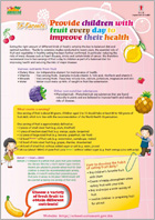 Provide Children with Fruit Every Day to Improve their Health